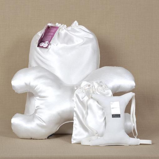 Ránctalanító párna szett fehér
